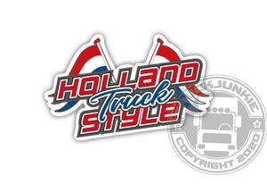HOLLAND TRUCK STYLE - FULL PRINT STICKER