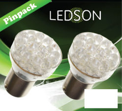 LED-LICHT XENON LOOK - 24 DIODE  P21W  BA15s