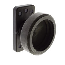 Danish side marker light holder - single-  rubber GYLLE