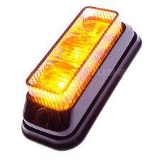 BLITZER 3 LED - GENEIGT - ORANGE