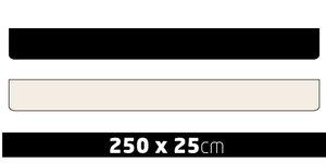 SCHMUTZFÄNGER  - KEIN PRINT - 250 X 25CM