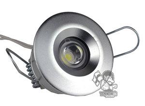 INNENRAUM SPOT LEUCHT WEISS - HIGH POWER LED - 1 DIODE 9-33v
