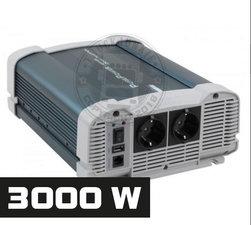 3000W - REINER SINUS SPANNUNGSWANDLER - PURE POWER 24-220V