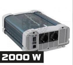 2000W - REINER SINUS SPANNUNGSWANDLER - PURE POWER 24-220V
