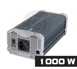 1000W - REINER SINUS SPANNUNGSWANDLER - PURE POWER 24-220V