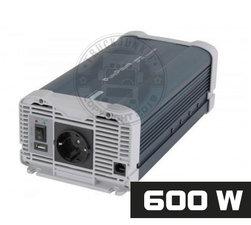 600W - REINER SINUS SPANNUNGSWANDLER - PURE POWER 24-220V