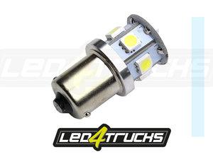 XENON WEISS -  9xSMD LED 10-30V - BA15s