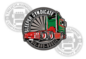 SLEEPER SYNDICATE JMT - FULL PRINT STICKER