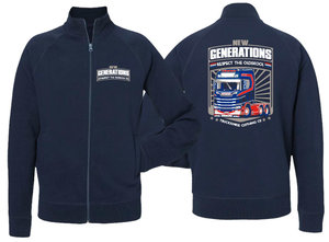 SWEAT JACKET - NEW GENERATIONS - PWT
