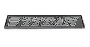 TITAN GRAU - 3D DELUXE FULL PRINT AUFKLEBER