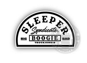 SLEEPER SYNDICATE BLACK/WHITE - FULL PRINT AUFKLEBER